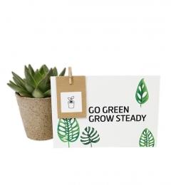 kartka z nasionami do sadzenia